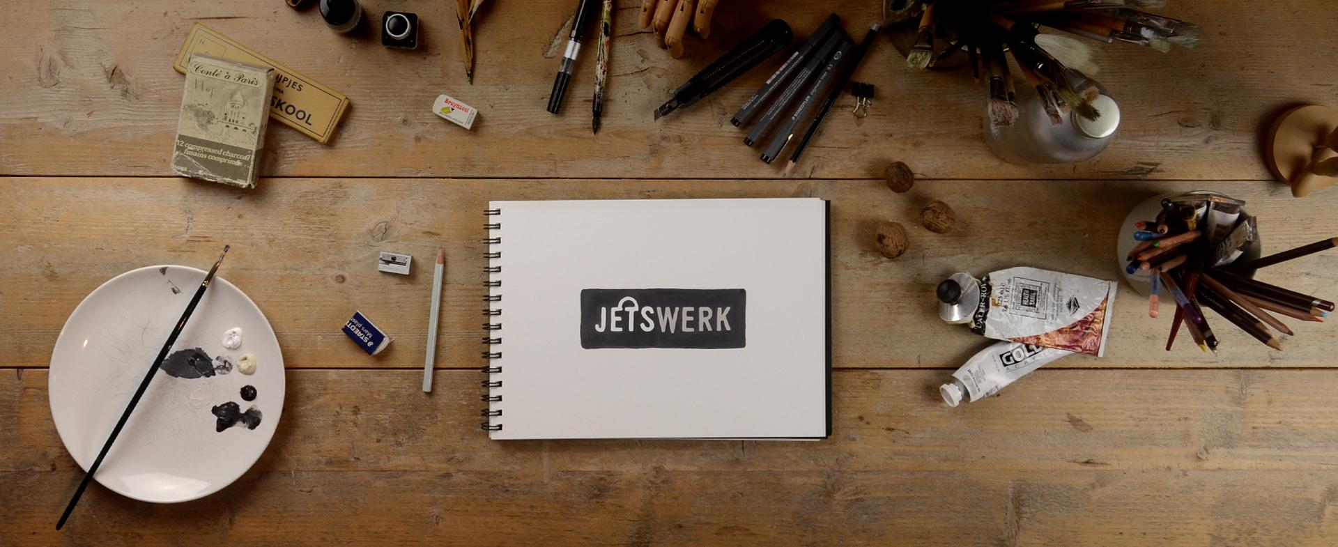 Bureau met jetswerk logo
