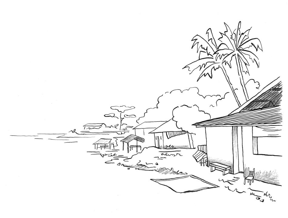 Pentekeningen - losse onderdelen voor de illustraties