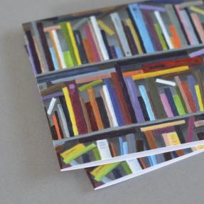 Jetswerk illustratie boekenweekspecial vrij nederland boekenkast kaart