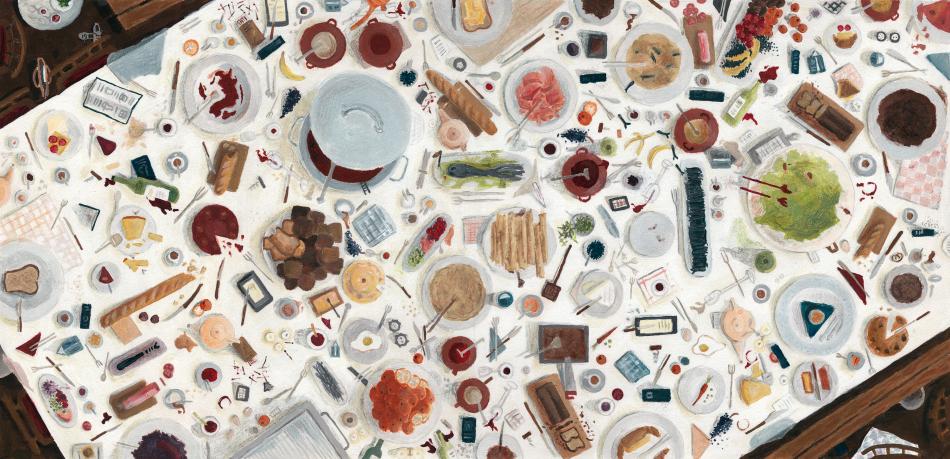 Illustratie 'tafel'