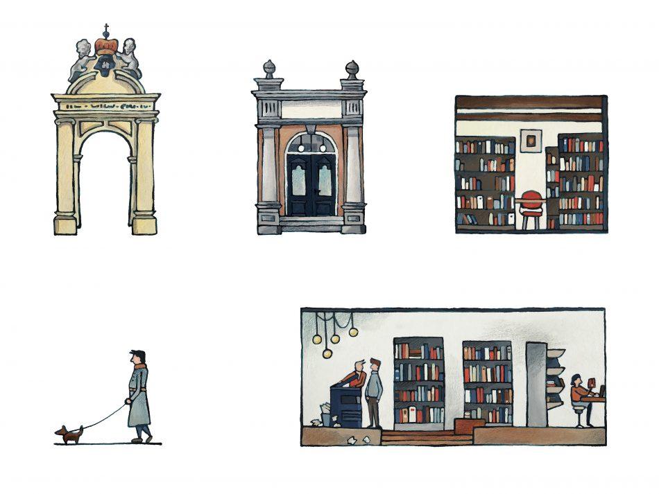 Illustraties voor Theologische Universiteit Kampen