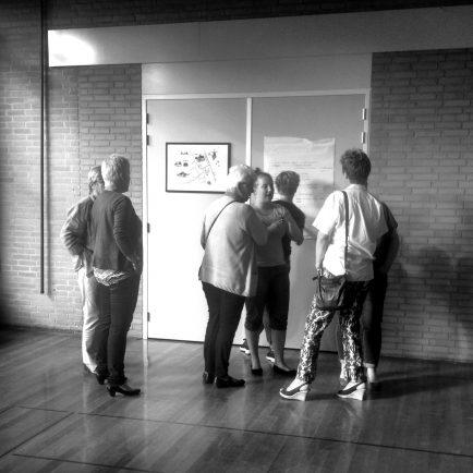 Informatiebijeenkomst in het dorpshuis van Windesheim