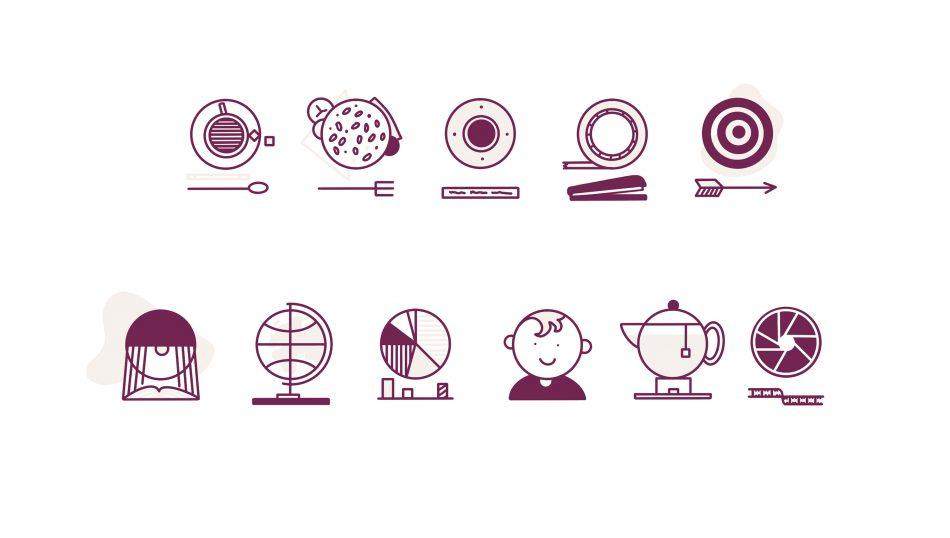 Studie naar iconen