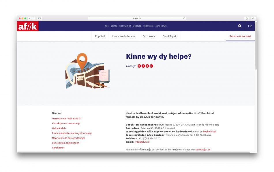 Op de website Afûk.frl